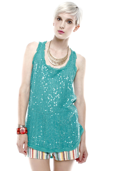Shoptiques SlideShow Sequin Tank