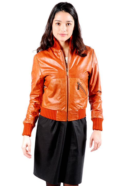 Shoptiques SlideShow Orange You Glad You Wore this Jacket?