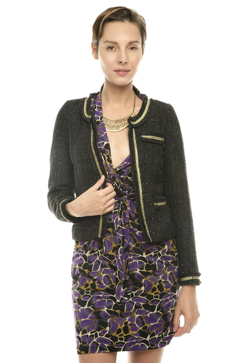 Shoptiques SlideShow Shimmery Tweed Blazer