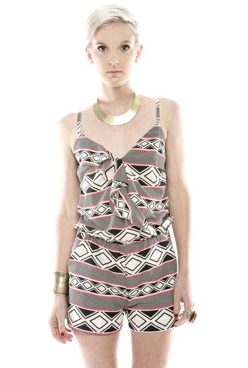 Shoptiques SlideShow Geo-Print Jumpsuit
