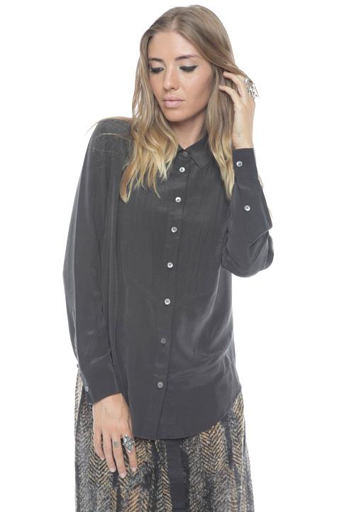 Shoptiques SlideShow Silk Tuxedo Shirt