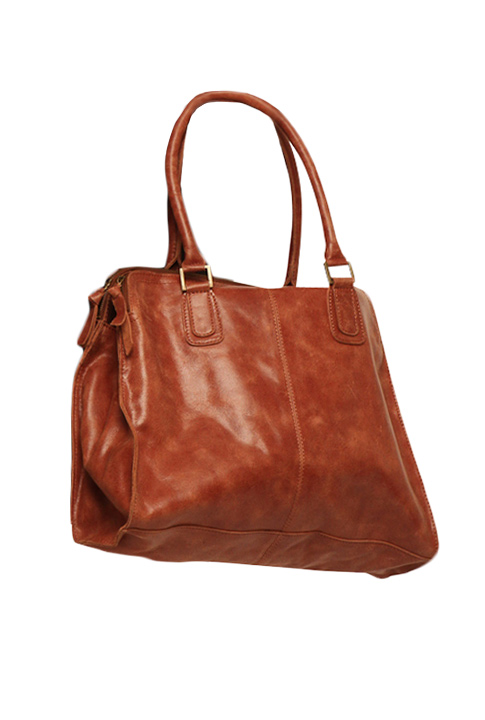 Shoptiques SlideShow Leather Satchel