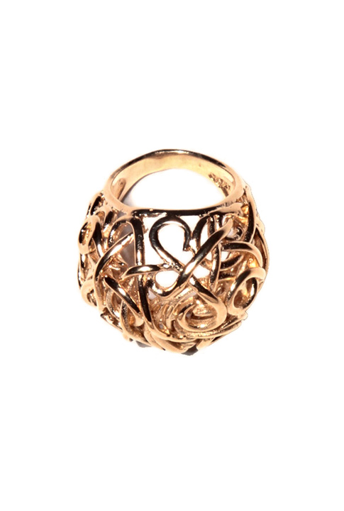 Shoptiques SlideShow Textured Cocktail Ring