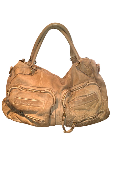 Shoptiques SlideShow Distressed Leather Bag