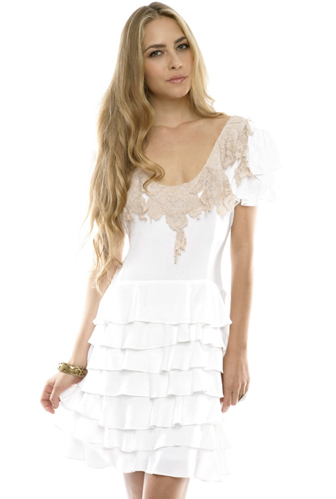 Shoptiques SlideShow Ruffles and Lace