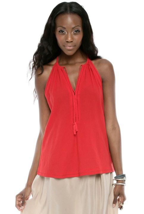 Shoptiques SlideShow Minimize a Big Bust <br> ...with a halter top