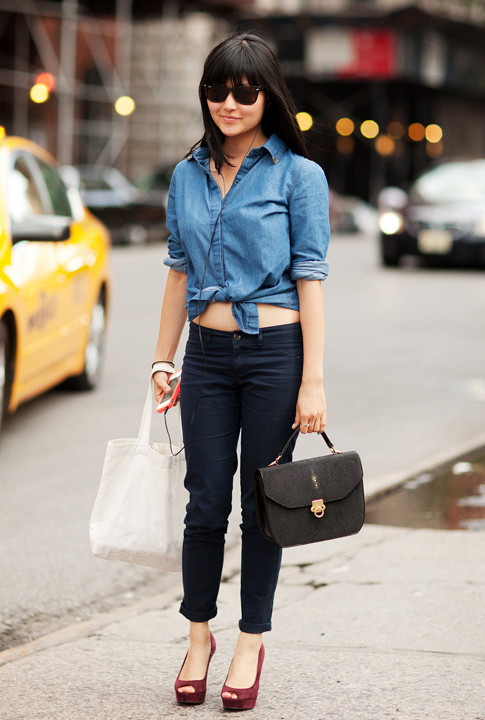Shoptiques SlideShow The Denim Shirt