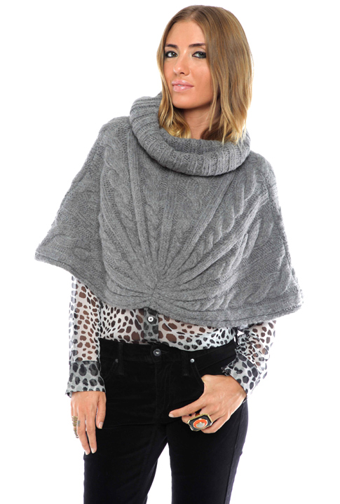 Shoptiques SlideShow Cowl-Neck Capelet