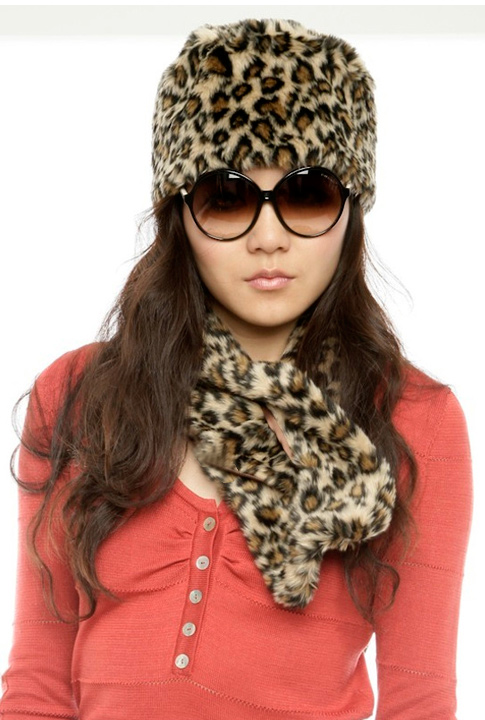 Shoptiques SlideShow Leopard Skin Pillbox Hat