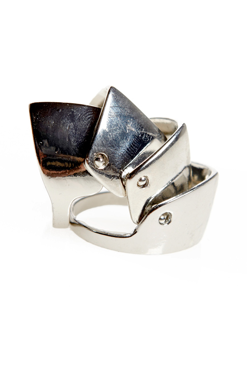 Shoptiques SlideShow Armor-Dillo Ring