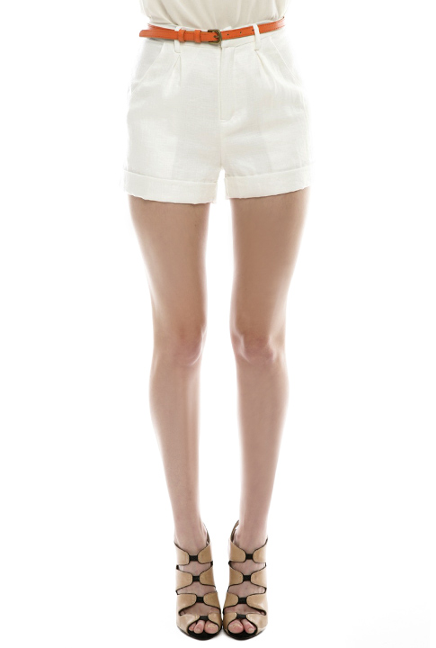Shoptiques SlideShow Bamboo-Blend Shorts