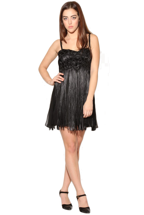 Shoptiques SlideShow Embroidered Flapper Dress