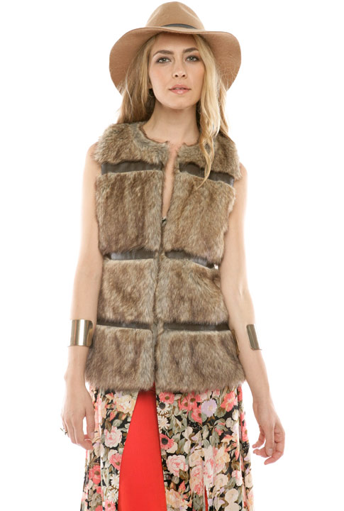 Shoptiques SlideShow Fur Vest