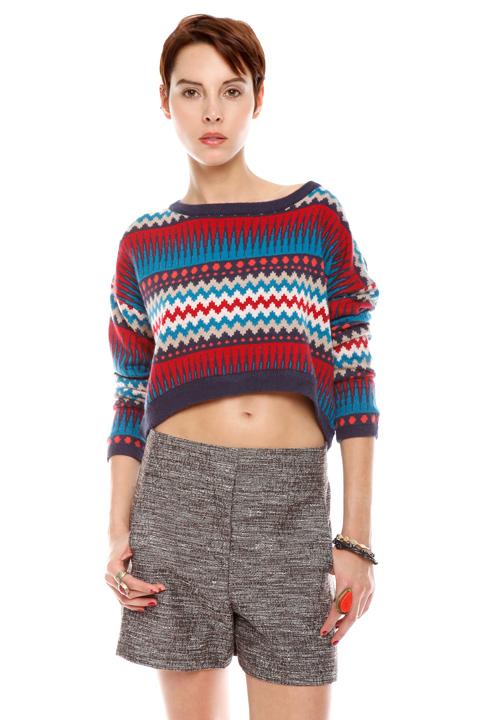 Shoptiques SlideShow Zigzag Sweater