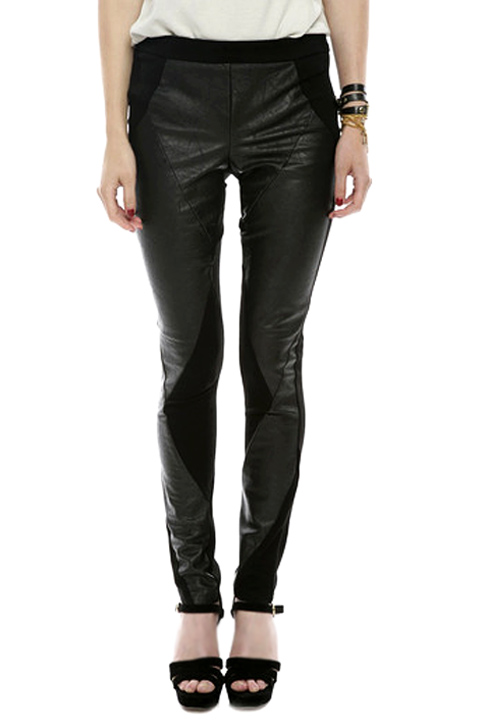 Shoptiques SlideShow Faux-Leather Pants