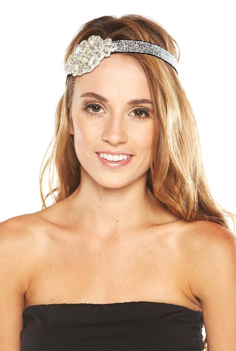 Shoptiques SlideShow Crystal Appliqué Headband