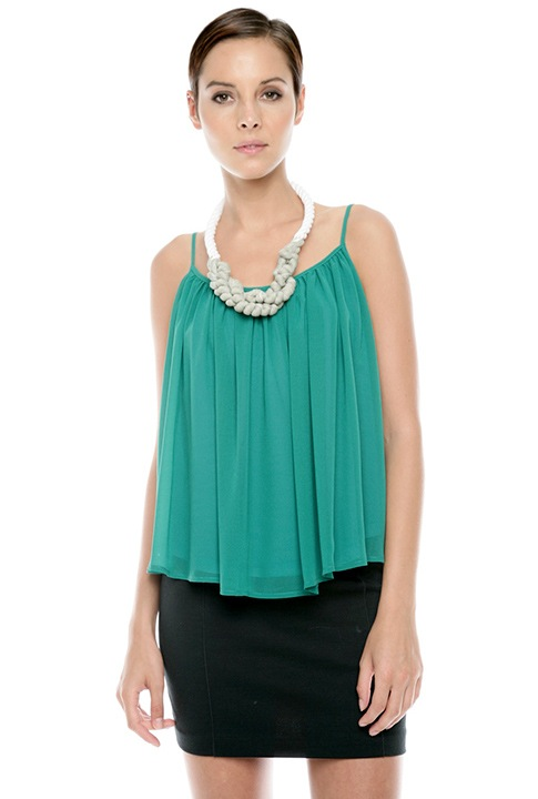Shoptiques SlideShow Conceal a Tummy <br> ...with a trapeze top