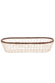 Mud Pie Copper Basket Set - Front cropped