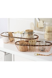 Mud Pie Copper Basket Set - Front full body