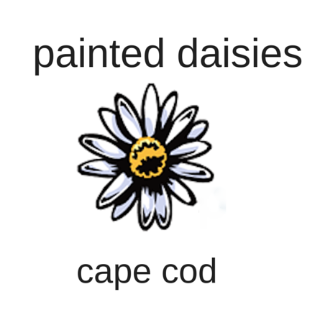 Painted Daisies in Cape Cod