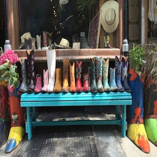 Space Cowboy Boots in SoHo
