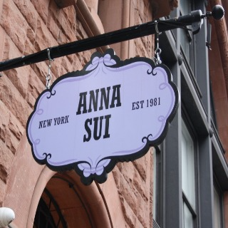 Anna Sui in Manhattan