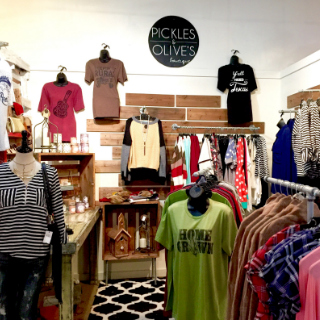 Pickles and Olive's Boutique in Texas