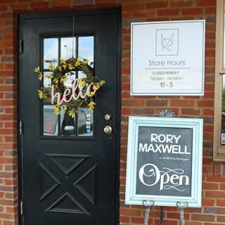 Rory Maxwell Boutique in Ohio