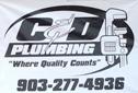 Website for C & D Plumbing