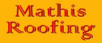Website for Mathis Roofing, LLC