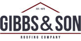 Website for Gibbs and Son Roofing Company