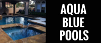 Website for Aqua Blue Pools, LLC