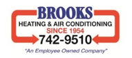 Website for Brooks Heating & Air Conditioning