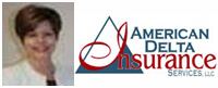 Website for American Delta Insurance Services, LLC