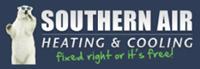 Website for Southern Air of Shreveport