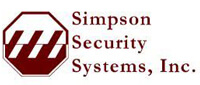 Website for Simpson Security Systems, Inc.