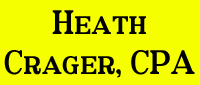 Website for Heath Crager, CPA, LLC