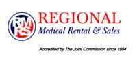 Website for Regional Medical Rental & Sales