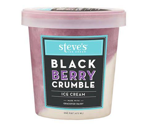 Steve's Ice Cream - Blackberry Crumble