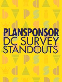 PLANSPONSOR DC Survey Standouts