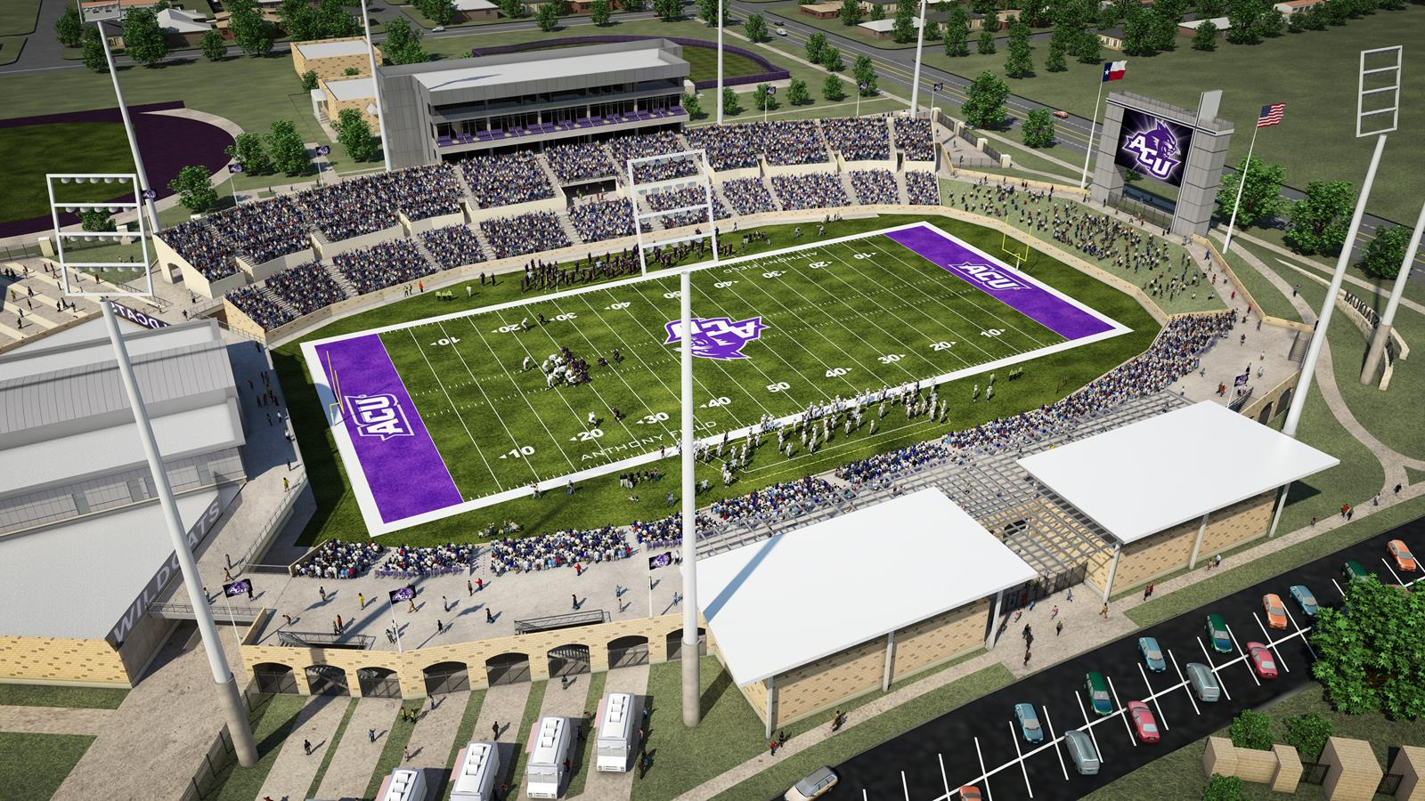ACU launches Web site to continue push for stadium funding ...