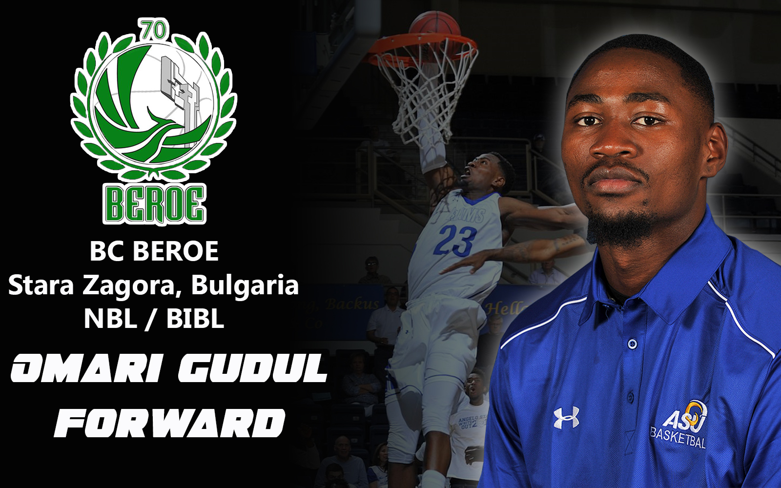 Angelo State University Gudul Signs Professional Contract