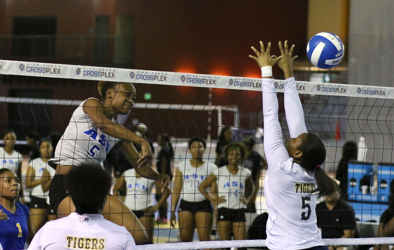 Albany State University Athletics Lady Rams Volleyball
