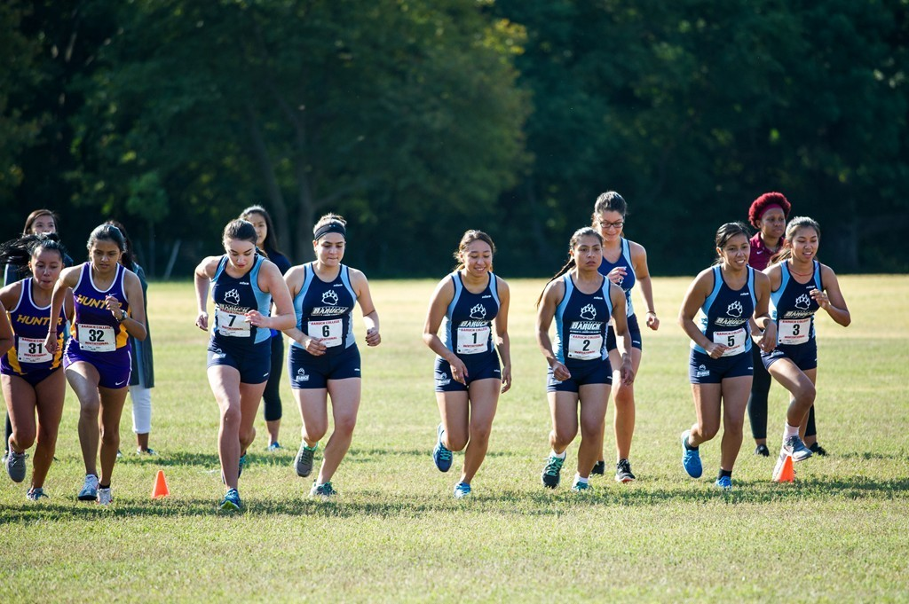 Baruch_XCNRY_2016_13 baruch athletics women's cross country places 15th at 6k york,York Invitational Swim Meet