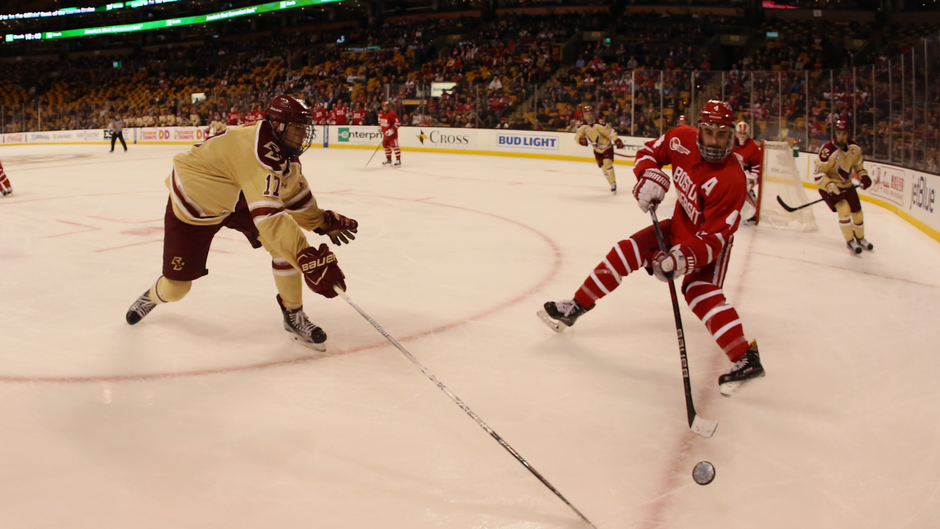 Hockey East: Battle Of Comm Ave. Takes Form In Hockey East Semis
