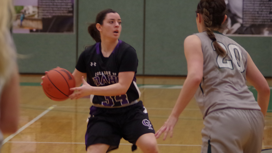 College Of Idaho Athletics Second Half Defense Carries Lady Yotes Past Evergreen