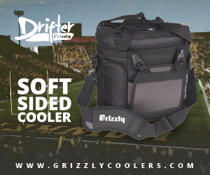 Grizzly Coolers Ad 300x250