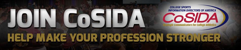 Join CoSIDA banner