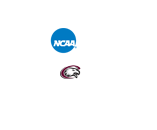 NCAA Division II Make it Yours logo customized with Eagle