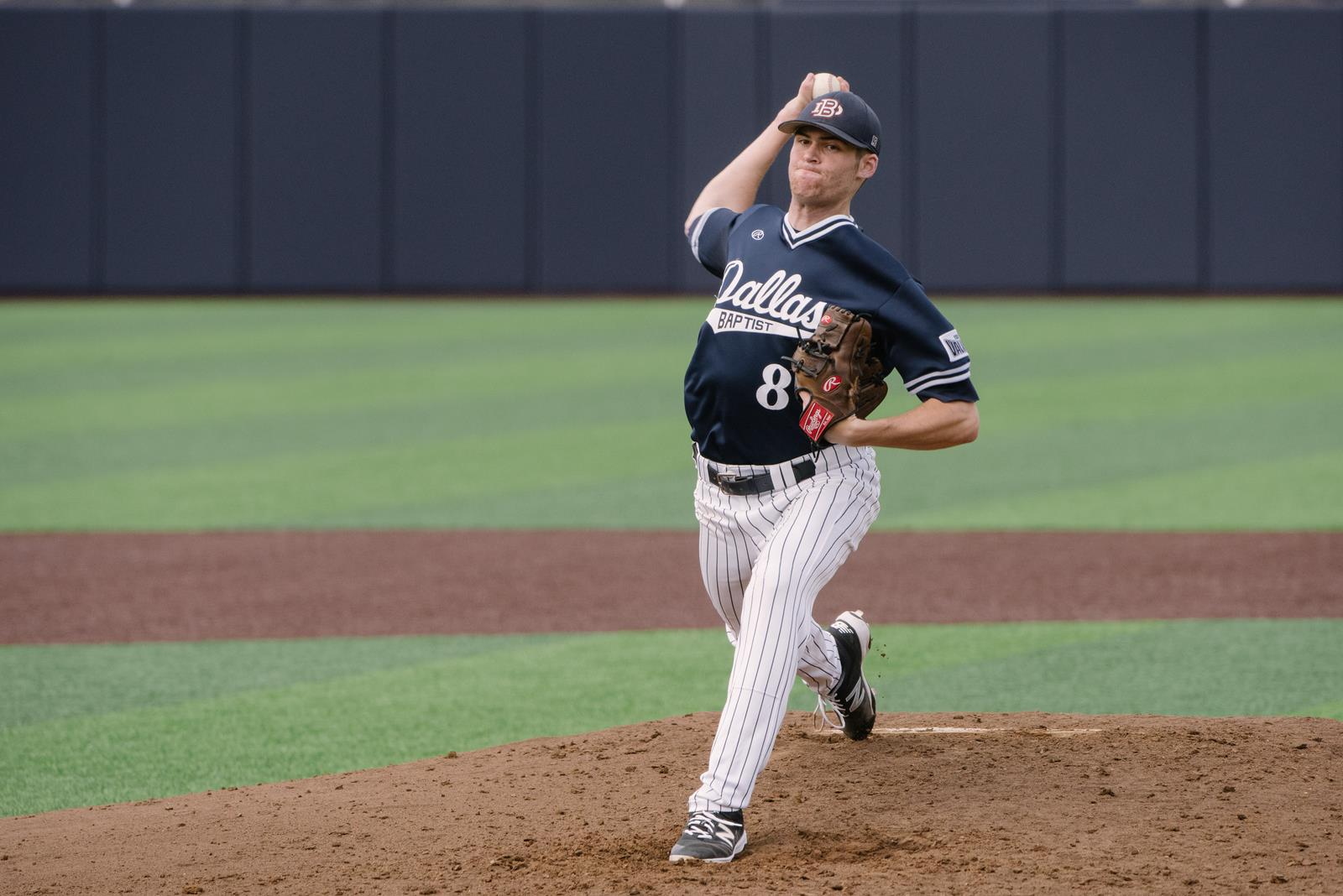 The Official Site of Dallas Baptist University Athletics: http://dbusports.com/news/2016/4/22/baseball-no-24-dbu-slips-past-indiana-state-3-2.aspx